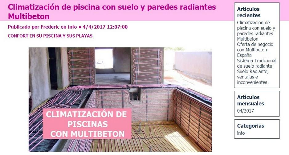 Precio m2 suelo radiante elegant suelo radiante with - Precio m2 suelo radiante ...