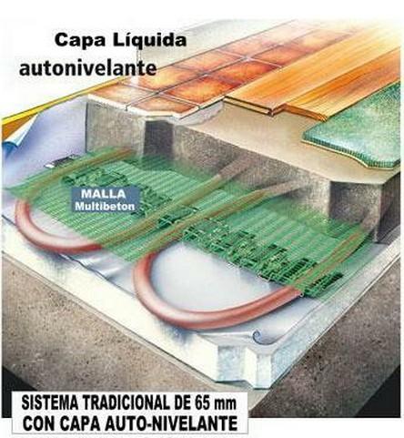 Suelo radiante autonivelante suelo radiante sistemas for Suelo radiante frio calor